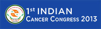 Indian Cancer COngress 2013 logo